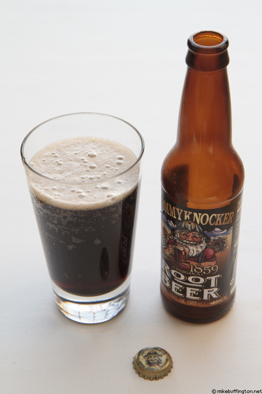 Tommyknocker Root Beer Poured