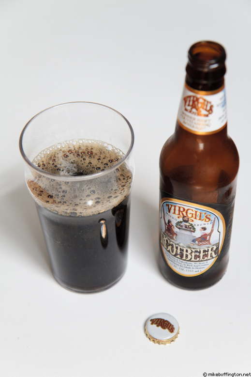 Virgil's Original Root Beer Poured