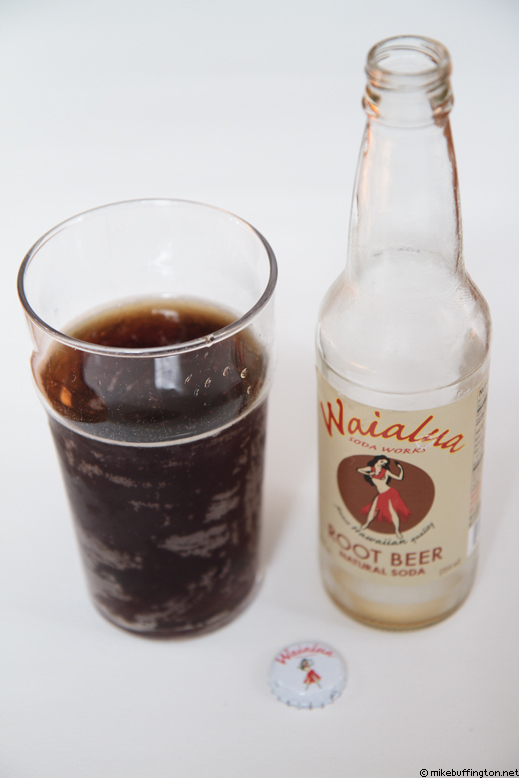Waialua Root Beer Poured