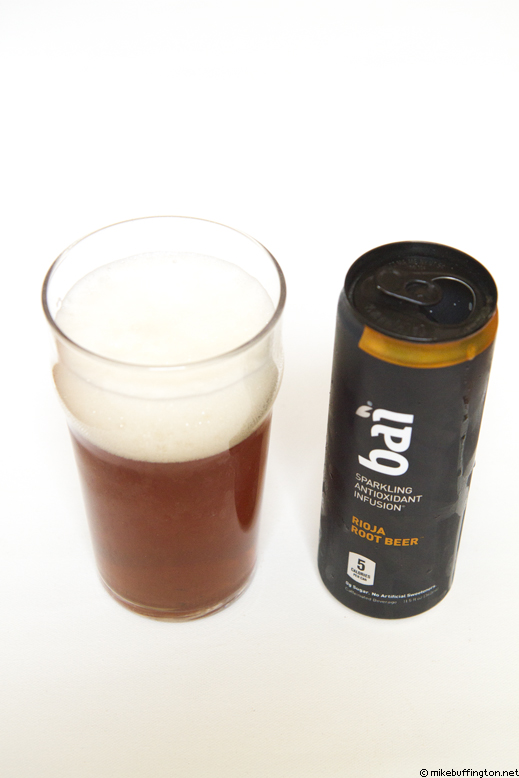 bai Rioja Root Beer Poured